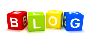 Image of the word blog to help sell blogging for plumbers